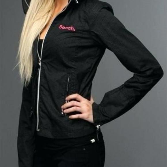 Bench Jackets Coats Euc Black Pink Jacket Poshmark